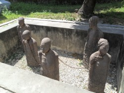 Slave Monument at the Anglican Church in Zanzibar